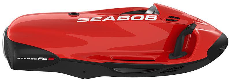 Seabob Colour - Big Label Red White
